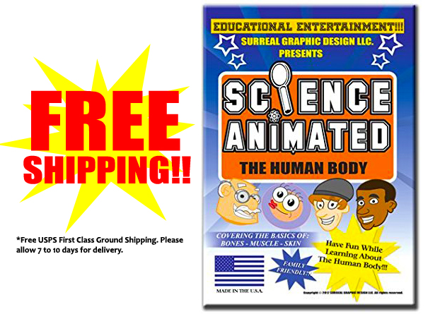 Science Animated DVD