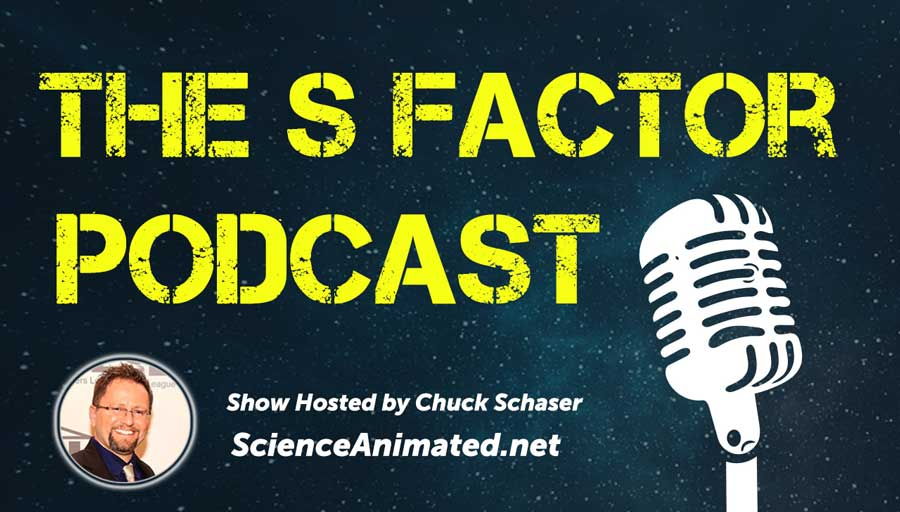 """The S Factor"" radio show is hosted by Science Animated creator Chuck Schaser and is all about the amazing world of science. Each show features science news and a main topic that will leave listeners intrigued to learn more. Listen LIVE the first Saturday of every month at 1pm on Cruisin' 92.1 FM if you are in the New Jersey/Philadelphia area."